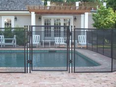 www.protectachild.com Pool Fence gate w/ magna latch. Safety, Security, & Sanity of Mind! #Backyard #Swimming