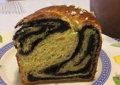 Foszlós citromos-mákos kalács recept foto Banana Bread, Breakfast, Desserts, Food, Drink, Kuchen, Morning Coffee, Tailgate Desserts, Deserts