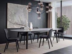 Descarga el catálogo y solicita al fabricante Mad dining table By poliform, mesa rectangular de mármol diseño Marcel Wanders, Colección mad