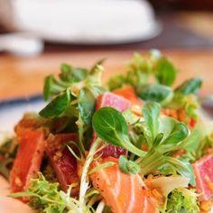 Salade de saumon fumé aux céleris