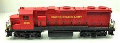 Weaver Ultra Line US Army 4626 Red RS3 Diesel Locomotive U5559LP 3 Rail | eBay