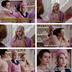 The Chanels in Scream Queens