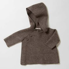 Luxurious Organic Infant and Baby Clothing: jackets : Felted Kimono Jacket