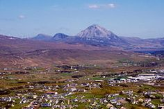 Mt Errigal in the distance