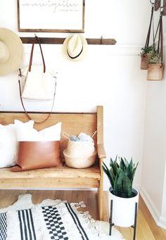 Home Style Tour with Cynthia Harper Cheap Cushion Covers, Sweet Home, Cushions, House Design, House Styles, Farmhouse, Furniture, Home Decor, Adobe