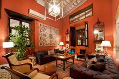 Hotel Casas del siglo XVI. Santo Domingo, República Dominicana. Zona colonial