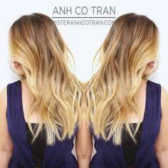 Coiffure cheveux longs : Mister AnhCoTran
