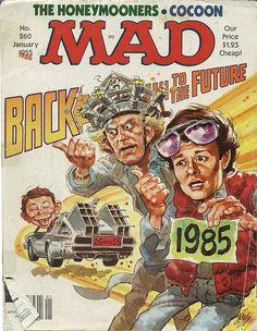 Mad Magazine No. 260 by Jack Davis Channel Zero, Comic Book Covers, Comic Books, Comic Art, Alfred E Neuman, Mad Magazine, Magazine Covers, Magazine Rack, Ec Comics