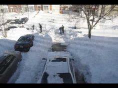 Snowmageddon I & II - Time Lapse Photography - YouTube