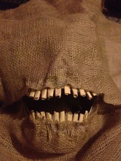 Picture of How to make a Scary Scarecrow Mask (With Moveable Jaw)