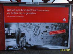 535. - Plakat in Stockach. / 10.04.2015./