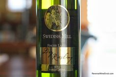 The Reverse Wine Snob: Swedish Hill Dry Riesling 2012 - World Class Riesling From New York? You betcha! http://www.reversewinesnob.com/2014/03/swedish-hill-dry-riesling.html #wine #winelover