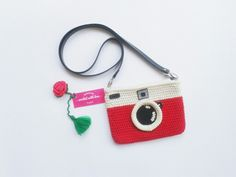 Crochet Instagram Purse Mini Sling Bag 📷 follow instagram norikadewi for more picture 📷