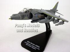 BAe Harrier GR9A 1/100 Scale Die-cast Model by Italeri