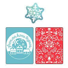 Image result for sizzix background stamps snowflake #24