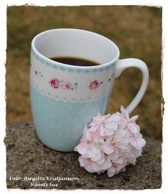 Havets Sus, Ib Laursen, flowers, coffee, Coffecup