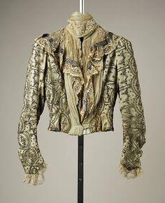 Dress, 1899, French, silk - Bodice