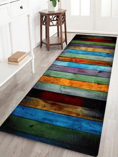 Best Area Rugs For Kitchen Design Ideas & Remodel Pictures Cheap Rugs, Large Area Rugs, Cheap Carpet, Diy Décoration, Rug Material, Floor Decor, Wood Planks, Bath Rugs, Bathroom Rugs