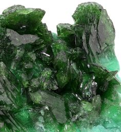 Cuprian Adamite on an unidentified mint green amorphous mineral - Tsumeb Mine, Otavi Highlands, Namibia
