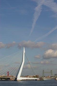Rotterdam Harbour, Erasmusbrug - Netherlands