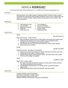 Resume Cv Example Brilliant Exle Resume Resume Cv  Resume Examples No Experience  Pinterest .