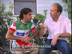 Intervista Gian Mario Pedrazzini Camp. Italiano Elite - 08 Luglio 2009 - Gragnano (LU)