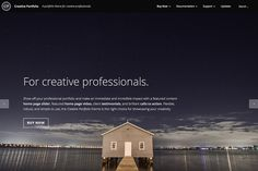 Check out Creative Portfolio WordPress Theme by Professional Themes on Creative Market