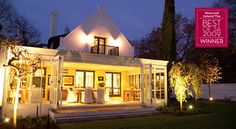 The Owner`s Cottage at Grande Provence Heritage Wine Estate - Luxury Accomodation #SouthAfrica