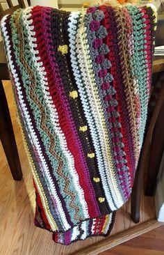 As we go stripey blanket CAL #crochet #cal #blanket