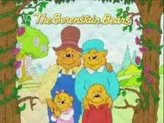 Great for habit #3 put first things first.  Berenstain Bears - Pick Up And Put Away - YouTube