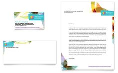 Adolescent Counseling Business Card & Letterhead Template Design | StockLayouts