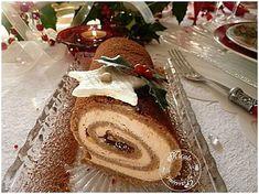 Entrée pour la nouvelle année........Roulé de foie gras