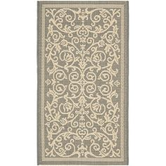 "Safavieh Courtyard Collection CY2098-3606 Grey and Natural Area Rug, 2 feet by 3 feet 7 inches (2' x 3'7"") Safavieh http://www.amazon.com/dp/B007W5IDXM/ref=cm_sw_r_pi_dp_-QY2vb1EKQKZB"