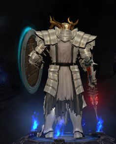 Crusader - back armor