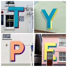 In conjunction with @museumartcraft #thevillageoftype by gary_stranger