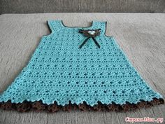 Crochet Patterns| for free |crochet baby dress| 1510