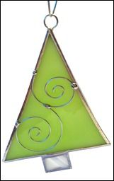 2014 Christmas Fairs – Stained Glass Ornaments - Joie de Light Glassworks