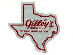 Largest in the world..Gilleys bar/honky tonk,Pasadena,Tx.Founded in 1971 by singer Mickey Gilley,was the setting of the movie Urban Cowboy in 1979 with John Travolta.Burned due to Arson in the early 80s.Reopened in 2006 in Dallas Fort Worth