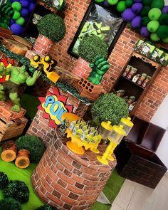 Festa do Hulk: 60 ideias e vídeos para um evento esmagador - Tua Casa