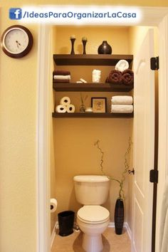 decoracion medio baño pequeño - Buscar con Google