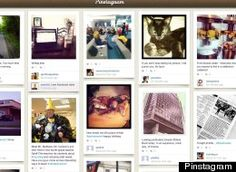Pinstagram, Pinterest & Instagram Mashup, Launches As A Joke, But Is Actually Pretty Cool