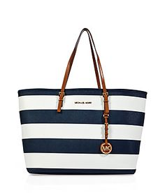 Navy Michael Kors Purse<3