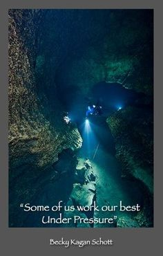 Another great scuba diving line/ The Deep