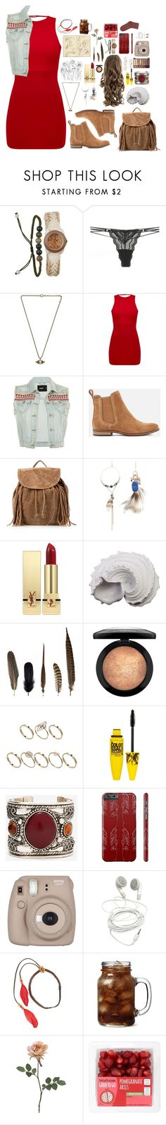"""""""PIPER MCLEAN: COLLEGE"""" by fran-peeters ❤ liked on Polyvore featuring Cosabella, Lionette, Superdry, NLY Accessories, Yves Saint Laurent, Urban Trends Collection, Moleskine, Mineheart, ASOS and Maybelline"""