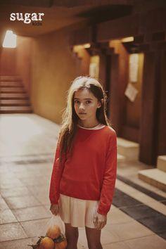 Aroa from Sugar Kids for Luna Magazin by Melanie Rodriguez. #CoolKidsFashion