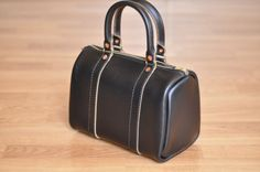 Chicago Bag in Black Chromexcel by LthrwD on Etsy, $200.00