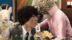 [kawaiiiii new ad, interview & making] http://maidigitv.jp/movie/pqRy5KphYHU.html  or http://www.bb-navi.com/cm-douga/yamazakikento.html     Kento Yamazaki, web ad, Yasai Seikatsu 100 (vegie juice), Mar/30/2016  Kento joins vegitable Corporation as a rookie.