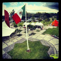 Foto aérea en parque metropolitano de Guadalajara