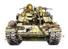 M-60A1 First Gulf War