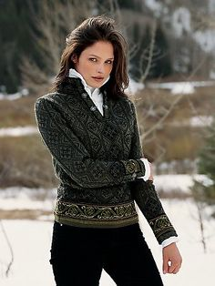 women's sweaters | voss sweater norwegian sweaters women Gorsuch - Stylehive